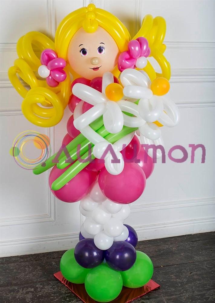 Подарки из воздушных шаров для девочек 439