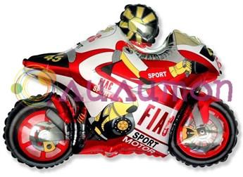Фольгированный шар 'Мотоцикл'