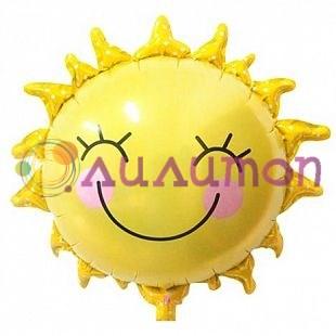 """Фольгированный шар """"Солнышко"""" - фото 10068"""