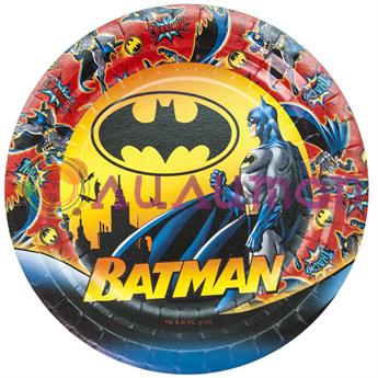 Тарелки «Бэтмен» 6 шт. - фото 10145