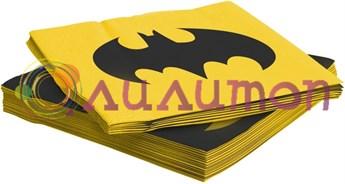 Салфетки «Бэтмен» 12 шт. - фото 10146