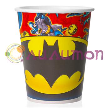 Стаканы «Бэтмен» 250 мл, 6 шт. - фото 10147