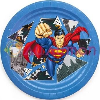 Тарелки «Супермен» 6 шт. - фото 10155