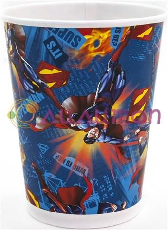 Стаканы «Супермен» 250 мл, 6 шт. - фото 10156