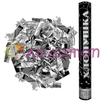 Пневмохлопушка «Серебро» 40 см