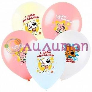 Облако из шаров «Ми-Ми-Мишки С днем рождения»