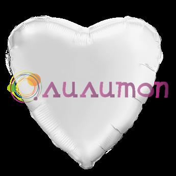 'Белое сердце' 40 см