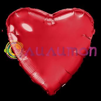 """Красное сердце"" 40 см - фото 10360"