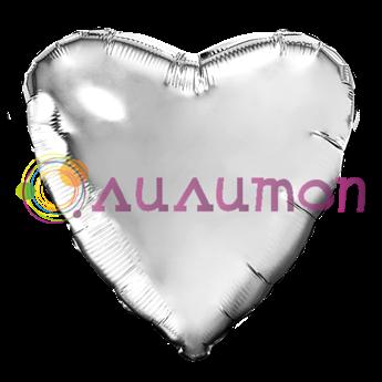 'Серебряное сердце' 65 см