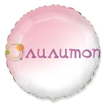 'Розовый, Градиент круг' 40 см