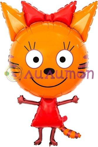 Фольгированный шар фигура 'Три кота 'Карамелька'