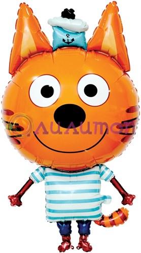Фольгированный шар фигура 'Три кота 'Коржик'