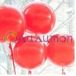 Большой красный шар 80 см - фото 3995