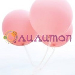 Большой розовый шар 80 см