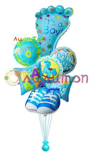 Букет из воздушных шаров 'Для малыша'
