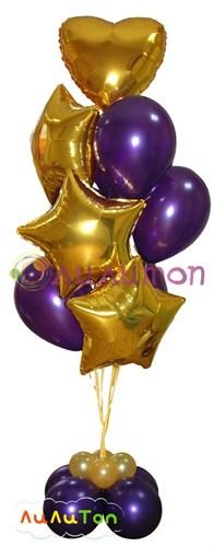 """Букет из воздушных шаров """"Филлини"""" - фото 4060"""