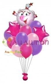 Букет из воздушных шаров 'Нюша'