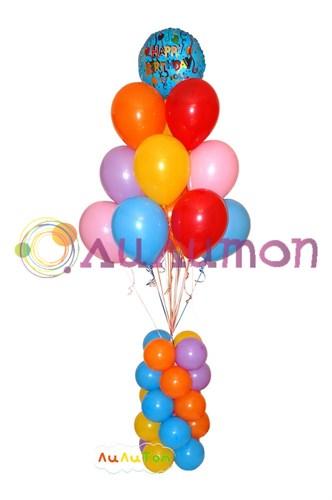 Букет из воздушных шаров 'Конфетти'