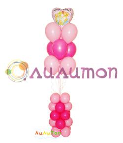 Букет из воздушных шаров 'Нежность'