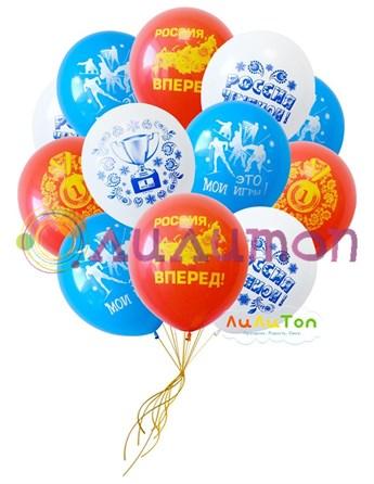 Облако из воздушных шаров 'Чемпион'