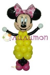 Минни Маус из шаров - фото 4136
