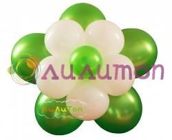 Цветок из шаров - фото 4180
