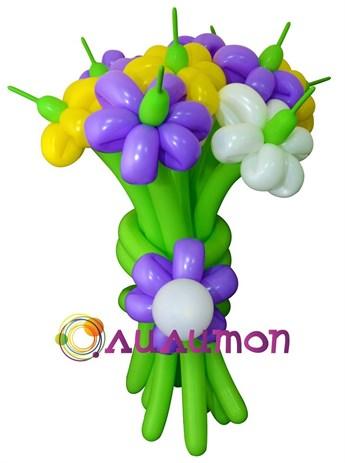Цветы из шаров 'Сиреневая сказка'