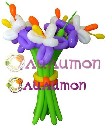 """Цветы из шаров """"Элегия"""" - фото 4189"""