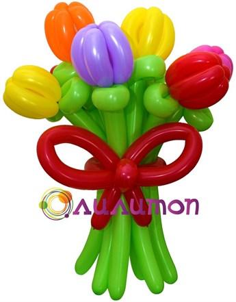 """Цветы из шаров """"Эль-Торо"""" - фото 4191"""