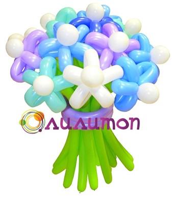 """Цветы из шаров """"Морской бриз"""" - фото 4218"""