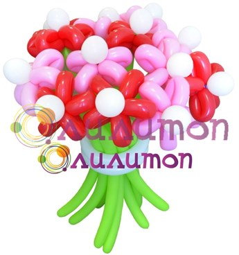 Цветы из шаров 'Сластёна'