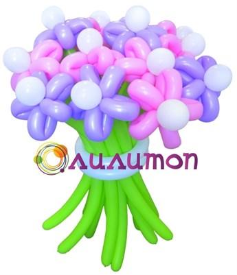 Цветы из шаров 'Вдохновение'