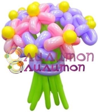 """Цветы из шаров """"Кружево"""" - фото 4246"""