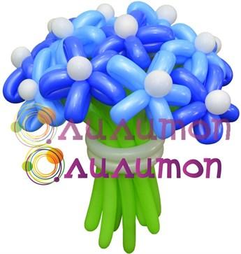 Цветы из шаров 'На волне'