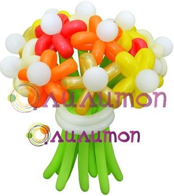 """Цветы из шаров """"Осенний вальс"""" - фото 4263"""