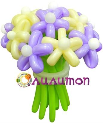 Цветы из шаров 'Весна'