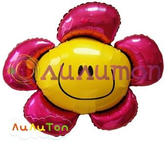 Фольгированный шар 'Цветок'