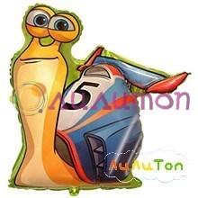Фольгированный шар 'Улитка Turbo'