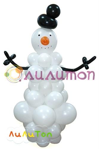 Композиция 'Снеговик'