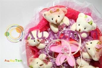 Букет из игрушек 'Невеста'