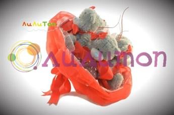 Букет из игрушек 'Валентинка'