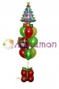 Букет из воздушных шаров  'С Новым Годом!'