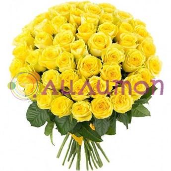 """Букет из роз """"Золото"""" - фото 4757"""