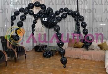 Паук из воздушных шаров - фото 4836