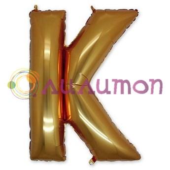 Фольгированный шар 'Буква К'