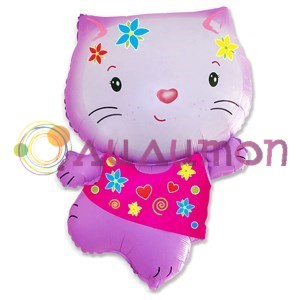 Фольгированный шар Hello Kitty (Китти) - фото 5050