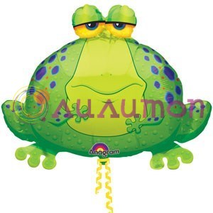 Фольгированный шар 'Лягушка'