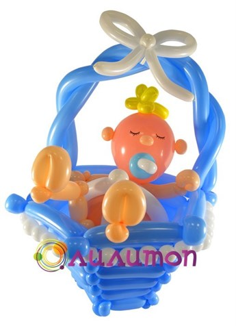Малыш из шаров - фото 5126