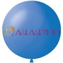 Большой синий шар 80 см - фото 5156