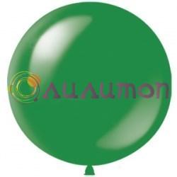 Большой зелёный шар 80 см